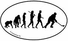 Eishockey Hockey Icehockey Evolution Aufkleber