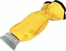 Eiskratzer (Handschuh mit Innenfutter und Gummizug * L x B: 350 x 110/160 mm * Farbig sortiert)