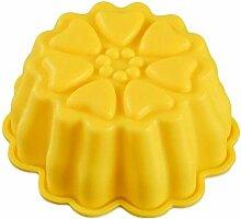 Eiswürfel Formen 2Pcs Blumenform Silikon Kuchen