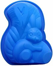 Eiswürfel Formen 3D Eichhörnchen Silikon Kuchen