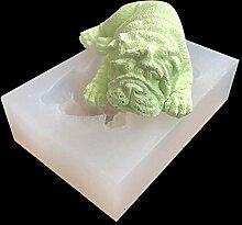 Eiswürfel Formen Hündchen Silikonform 3D