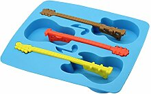 Eiswürfelform für Gitarre Eiswürfel Silikonform