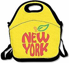 EJjheadband New York Red Apple NYC LogoLunch Box