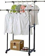 Ejoyous Garderobenwagen Kleiderständer