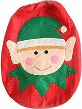 EJY 1 PCS Karikatur Weihnachten Toilettendeckel