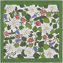 Ekelund Deckchen Midsommerblomster 35 x 35 cm
