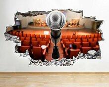 ekkdesigns Q713Mikrofon Stage Schlafzimmer Hall