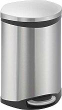 EKO Shell Bin Tritt-Mülleimer, 10 Liter,