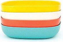 EKOBO 34611 Gusto Pastateller-Set 2, persimmon /