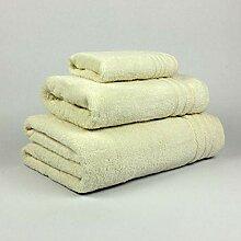 EL DRAGON BLANCO Duschtuch Set aus 100% Baumwolle,
