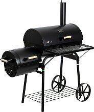 El Fuego Smoker Dakota, BxTxH: 122x66x133 cm