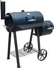 El Fuego Smoker Edmondton, BxTxH: 121x66x124 cm