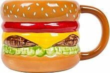 el & groove 3D Burger Tasse aus hochwertigem