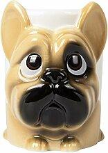 el & groove 3D Französische Bulldogge Tasse groß
