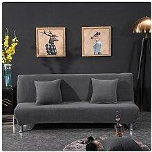 Elastisch Sofabezug ohne armlehnen Klappsofa