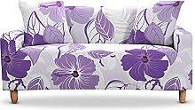 Elastischer Sofabezug Strech Blumen Und Blätter