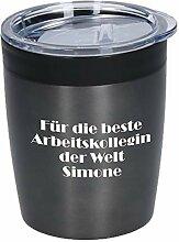 elasto Coffee to Go Becher Thermo Personalisierter