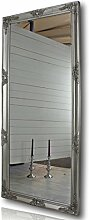 elbmöbel 162x72cm Wandspiegel groß in Silber