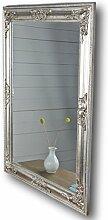 elbmöbel 82x62cm Spiegel silber antik Holz