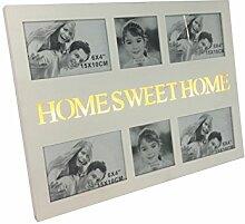 elbmöbel beleuchteter Bilderrahmen Home Sweet