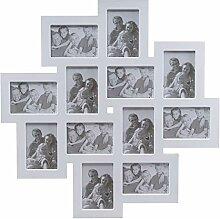 elbmöbel Bilderrahmen Collage Fotorahmen groß in