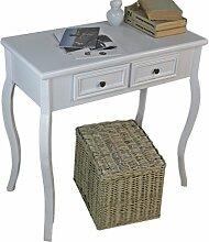 elbmöbel Konsolentisch Holz Tisch Schubladen