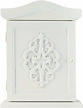 elbmöbel Schlüssel-Schrank mit Ornamenten und