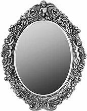elbmöbel Spiegel barock Wandspiegel oval mit