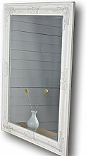 elbmöbel Spiegel weiß antik 82x62 cm Holz NEU