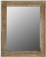 elbmöbel Wandspiegel im Holzrahmen Shabby Chic