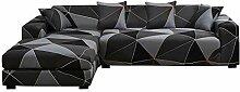ele ELEOPTION Sofa Überwürfe elastische Stretch
