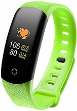 elecfan Fitness Armband Uhr mit Pulsmesser,