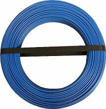 Electraline 60101028b Kabel Rolle–25m–blau