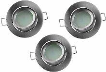 Electraline 63288 LED-Einbaustrahler, rund, 5 W,