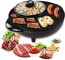 Electric Induction Hot Pot Cooker, 1500W 2 in 1