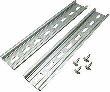 Electrodepot DIN-Schiene aus Aluminium mit