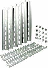 Electrodepot DIN-Schiene aus Aluminium, mit