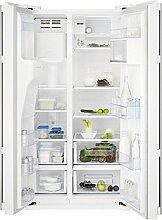 Electrolux–Kühlschrank Side By Side A freistehend eal6140wow Finish Weiß von 91,2cm
