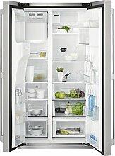 Electrolux–Kühlschrank Side By Side A freistehend eal6143wox Finish Edelstahl Fingerabdrücke von 91,2cm