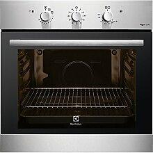 Electrolux Rex f13gx–Ofen (Medium, Eingebaut, Erdgas, A +, Schwarz, Edelstahl, drehbar
