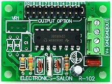 Electronics-Salon Niedriger Frequenz quadratisch Wave Oszillator Modul, 2 4 8 32 64 128 256 512 1024 2048 Hz