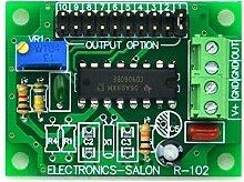 Electronics-Salon verstellbar geringe Frequenz, eckig Wave Oszillator Modul, 0,068 HZ bis 1400 HZ.