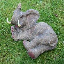 Elefant Deko-Figur Dickhäuter Indien Asien