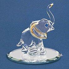 Elefant Glas Figur