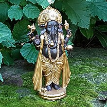 Elefanten Gott Ganesha Buddha Deko Figur Feng Shui