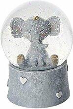 Elefanten Schneekugel Spieluhr Geschenk für