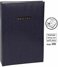 Elegance Fotoalbum für 300 Fotos in 10x15 cm Memo