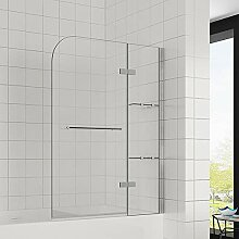 Elegant 90x120 cm(BxH) Badewannenaufsatz