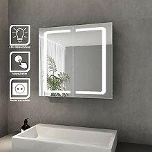 Elegant Bad Spiegelschrank mit Beleuchtung LED