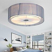 Elegant Deckenleuchte rund Design mit Lampenschirm